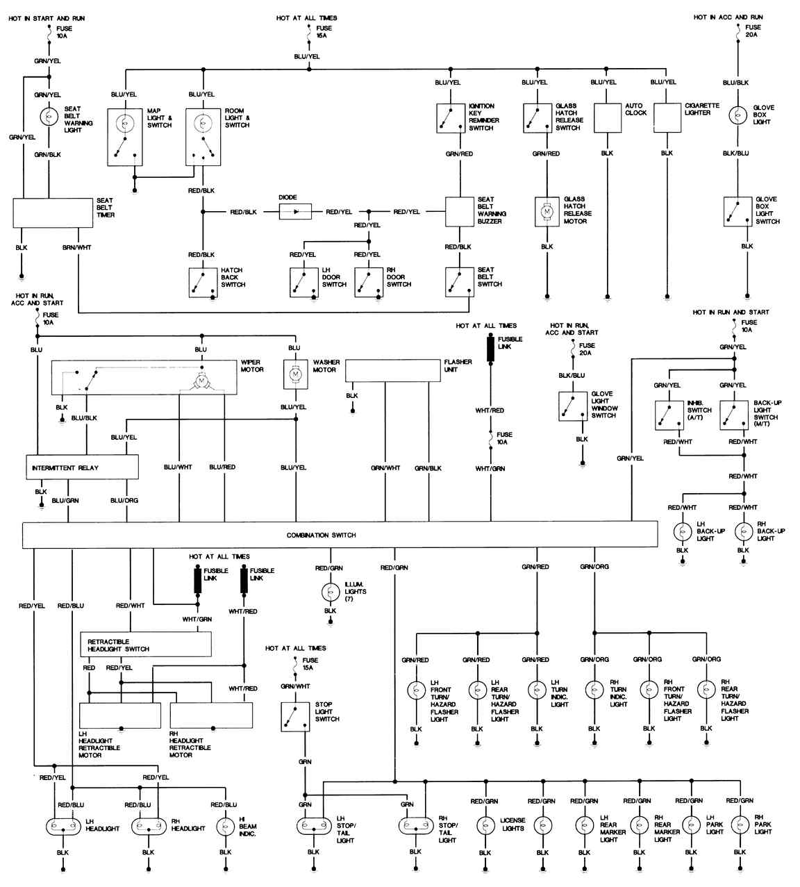 mazda 929 wiring diagrams mazda wiring diagram and circuit schematic